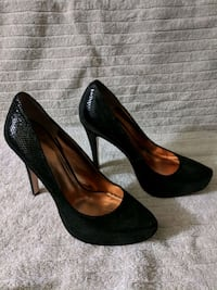 pair of black platform stilettos Campbell, 95008