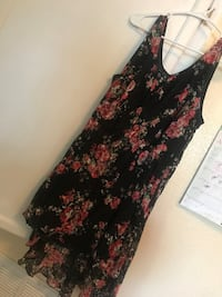 Black and red floral sleeveless dress Houston, 77015