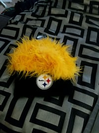 Steelers hat (never worn) 99 mi