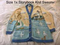 Storybook Knit Sweater size 1x Toms River, 08753