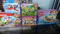 assorted Lego toy boxes lot Winnipeg, R2H 2Z8