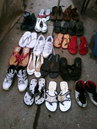 assorted pairs of shoes lot San Bernardino, 92411
