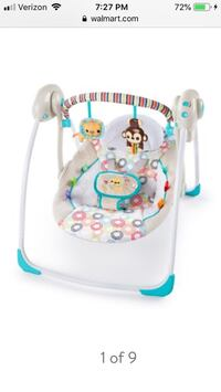Baby swing  Fitchburg, 01420