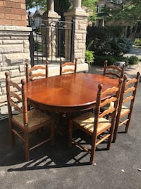 6 chairs and table used  Vaughan