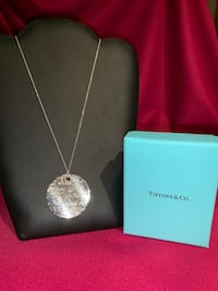 Tiffany Large Love Notes Pendant & Chain