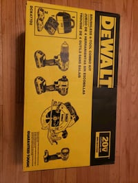 DeWALT 4 piece tool set.