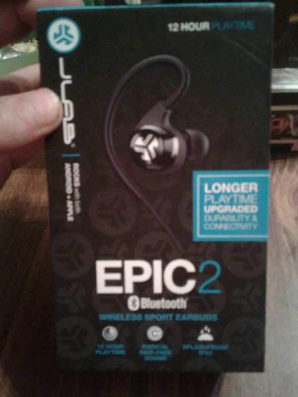 2d49f386428 Used Epic 2 Bluetooth wireless sport earbuds for sale in Staley - letgo