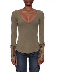 Free People structured long sleeve  Toronto, M5B 2R8