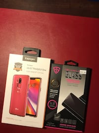 Lg g7 case and screen protector  Vaughan, L6A