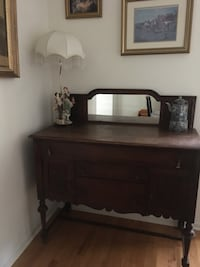 Antique Buffet Cabinet with mirror  East Greenbush, 12061