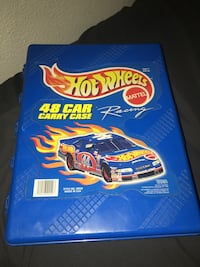 blue and yellow Hot Wheels car toy Salinas, 93906