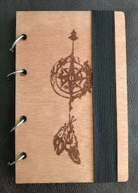Custom Wooden writing/Drawing Book, #6 Portage, 46368