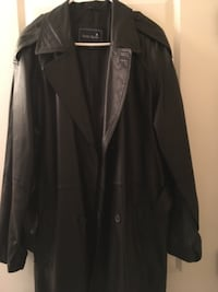 Real leather men's coat Medium null