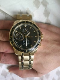 Relic Gold Watch