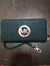 black Michael Kors leather wristlet Hartford, 06114