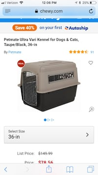 Large Dog Crate- New New York, 11249