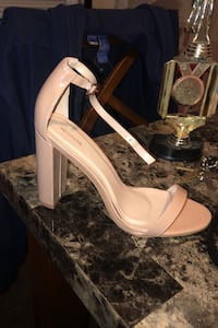 Nude colored heels