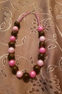 Brown and pink necklace  Virginia Beach, 23464