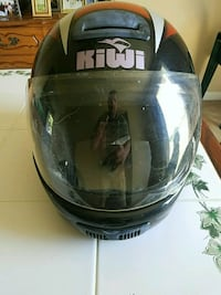 Kiwi motorcycle helmet XL