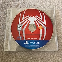 Marvel Spiderman ps4 playstation video game disc only Burtonsville, 20866