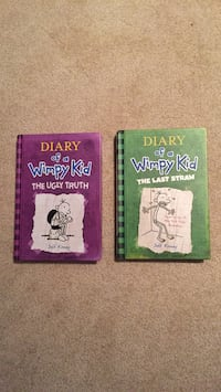 Two diary of a wimpy kid books 3731 km