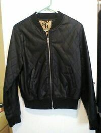 Juniors black large jacket
