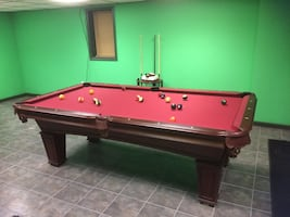 Liberty billiards pool table