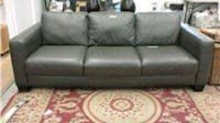 New Leather Couch Grey Port Coquitlam, V3C 6M9