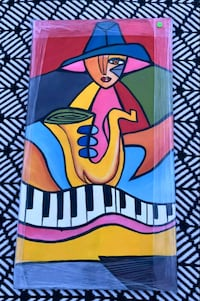 Stretched Piano Musical Painting Washington, 20007