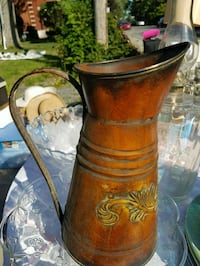 Decorative tin pitcher Montreal, H4H 2R4
