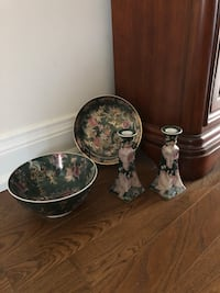Antique Bowl & Plate &candle Holder Toronto, M4S