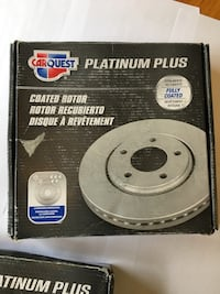 Carquest Wearever Platinum Plus Coated Rotors-Front Alexandria, 22304