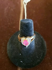14k ruby ring size 6.5 Newport News, 23601