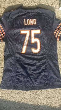 Kyle Long Signed Jersey Chicago Bears Arlington Heights, 60004