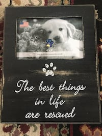 """The Best Things are rescued"" picture frame"