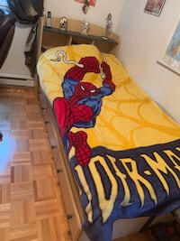 Kids single bed with storage Laval, H7T 3C1