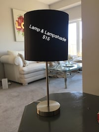 white and black table lamp Waterloo, N2K 0B3