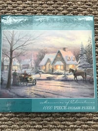 1000 piece jig saw puzzle Lake Elsinore, 92530