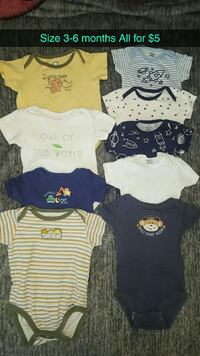 baby's assorted onesies Newman, 95360