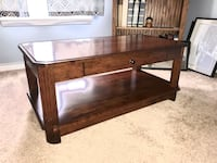 Rustic Cherry Coffee Table Hanover, 21076