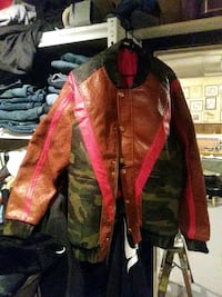 Leather jacket/ Frost originals Stockton, 95202