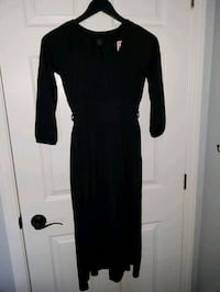 women's black long-sleeved dress St. Catharines, L2P 3N9