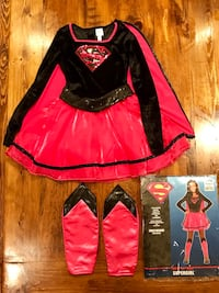 Girls Medium Supergirl Costume from Party City Cambridge, N3H 1W4