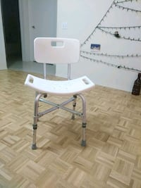 New Large Adjustable Shower Chair