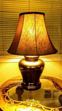 black and brown table lamp Parkville, 21234