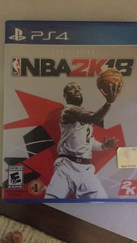 NBA 2K18 PS4 FOR CHEAP! Los Angeles, 90012