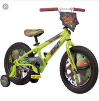 New 16 inch ninja turtle bike 847 mi