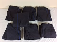 Lot of 7 Horace Small Women's Security Uniform Pants Size 14 Severn, 21144