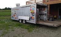 AMAZING SHAPE Foot Concession Trailer ..works very good