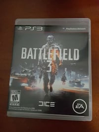 Sony PS3 Battlefield 3 game case